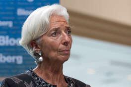 Christine Lagarde, managing director of the International Monetary Fund, in October 2018.