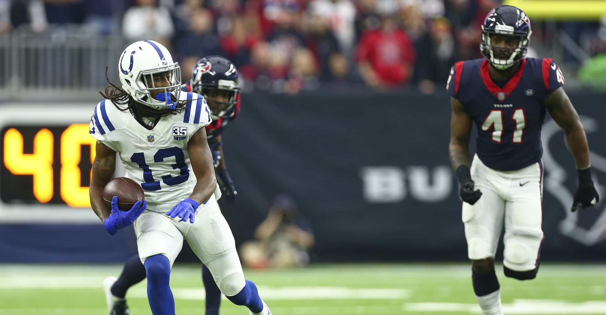 Colts' T.Y. Hilton continues to torch Texans