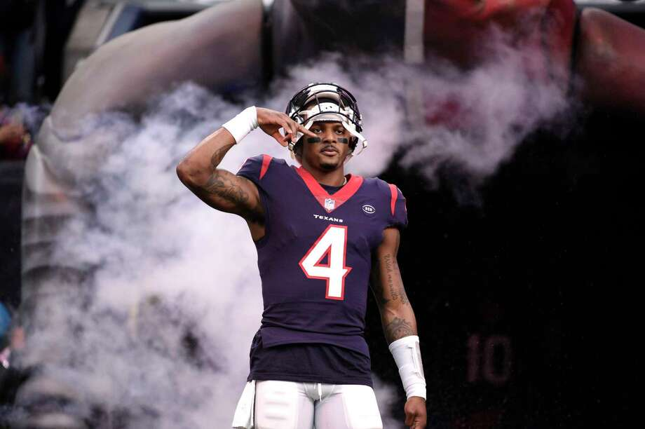 "PHOTOS: A look at other Texans celebrations this season When Deshaun Watson runs for a first down, he often ""wipes his nose"" and turns it into a first-down celebration. The Texans quarterback recently explained what it means. Browse through the photos above for a look at some of the Texans' celebrations this season ...  Photo: Eric Christian Smith, Associated Press / Copyright 2018 The Associated Press. All rights reserved"