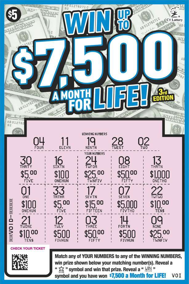 Danbury man wins $1 5M on lottery scratch-off ticket