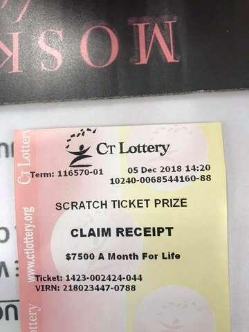 Danbury man wins $1 5M on lottery scratch-off ticket