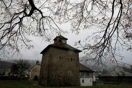 Pfaeffikon castle in Pfaeffikon, Switzerland, on Dec. 4, 2018.