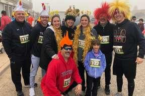 Turkey Trot: Dal Watson, back row from left, Will Watson, Melanie Julian, Connie Watson, McKaleigh Watson, Zane Waton and Landry Watson; and Nolan Watson, front row left, and Lucy Watson