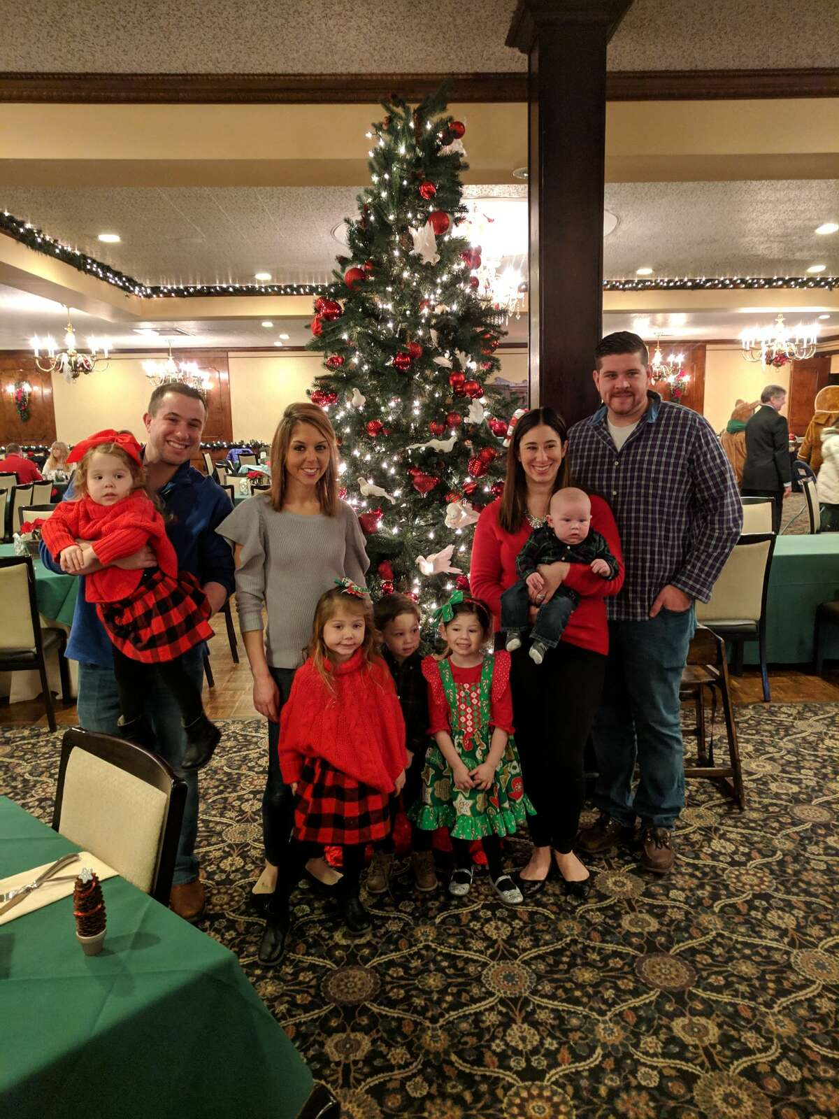 Breakfast or Lunch with Santa at The Century House in Latham, NY on Sunday, December 9, 2018.