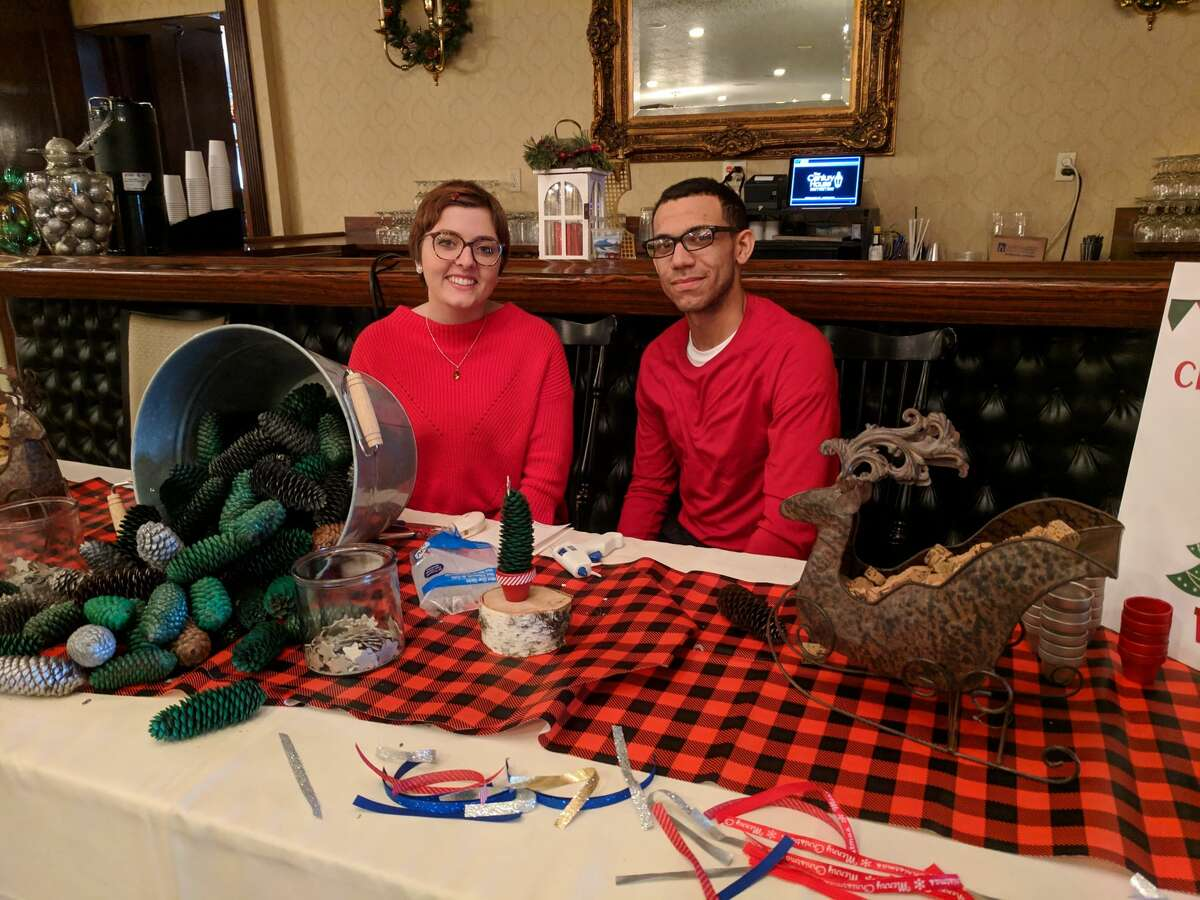 Guests enjoyed a delicious buffet, craft activities, music, winter characters in costume, and professional photos with Santa during The Century House's annual Breakfast or Lunch with Santa event held on Sunday, December 9, 2018.