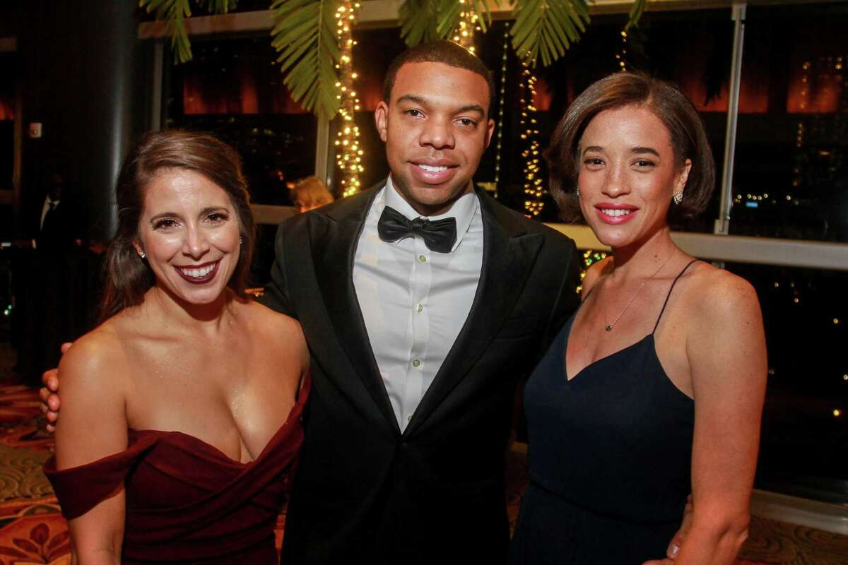 Angie O'Flaherty, from left, Jonathan Garrett and Kyla Kennedy at the Altus Foundation gala.
