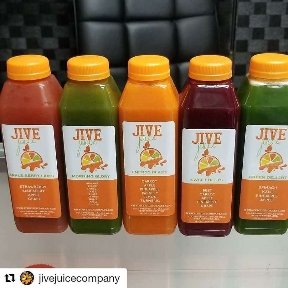 Other products from Tamala Austin's company include smoothies, cleanses, H20-infused refreshers, teas and workout drinks. Photo: Courtesy Of JIVE Juice Company