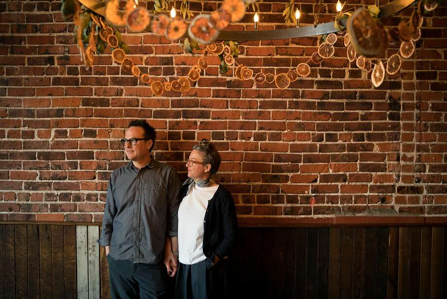 Russell Moore and Allison Hopelain are closing Camino, which they opened 10 years ago. Photo: Sarahbeth Maney / Special To The Chronicle