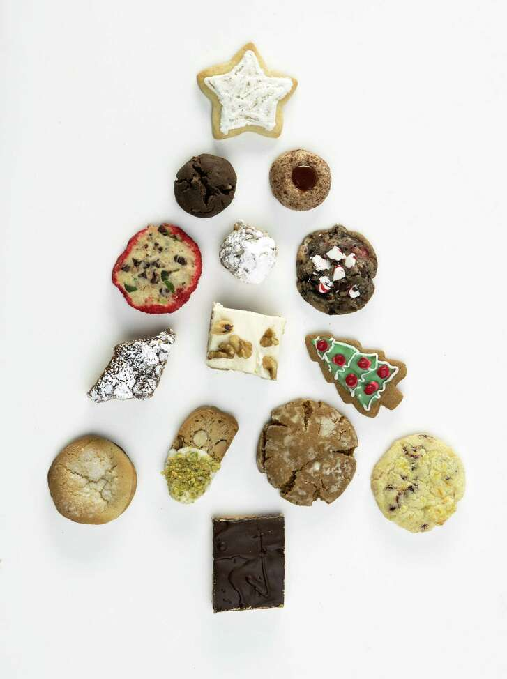 The Houston Chronicle's holiday cookie selection for 2018 is a diverse group.