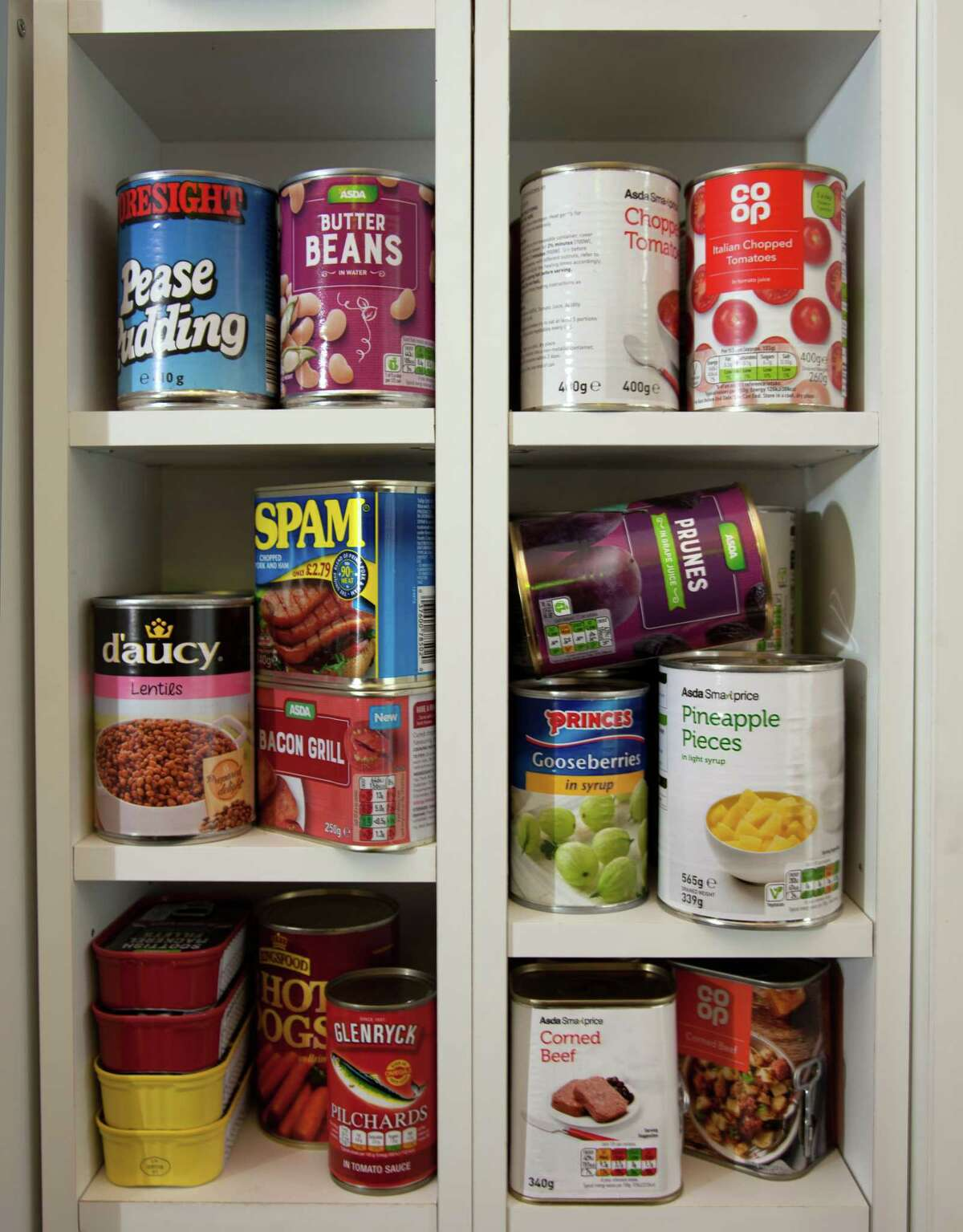 Food: Non-perishable, easy-to-prepare items (3-day supply for evacuation, 2-week supply for home)