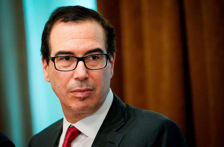 Treasury Secretary Steve Mnuchin is among the people being considered to replace John Kelly. Photo: Mandel Ngan / AFP / Getty Images