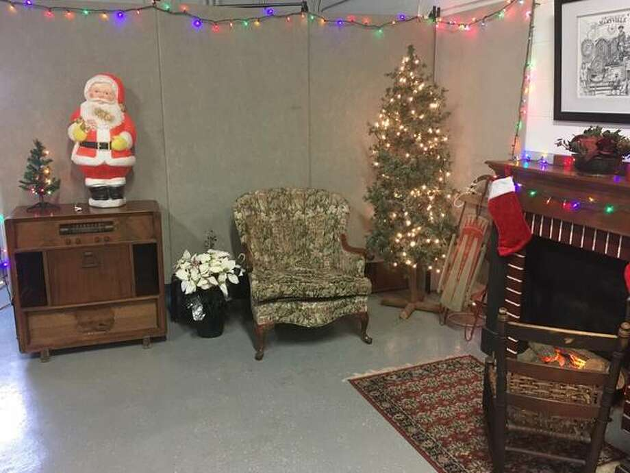 A scene inside the Maryville Heritage Museum where Santa is set to arrive on Friday, Dec. 14. Santa is to arrive at approximately 6:30 p.m. for photos with kids and to hand out goodie bags. Photo: For The Intelligencer