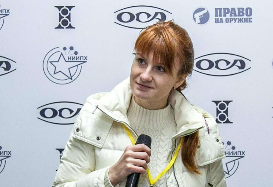Prosecutors accused Maria Butina, a gun-rights activist from Russian, of running a secret campaign to influence powerful American conservatives. Photo: AFP / Getty Images 2013