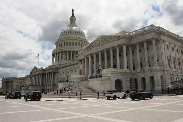 A view of the U.S. Capitol Building on July 25, 2017, in Washington, D.C. (Evan Golub/Zuma Press/TNS)