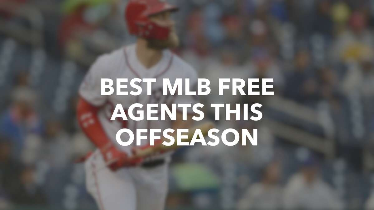 Click ahead to see the best available Major League Baseball free agents in the 2018-19 offseason >>>