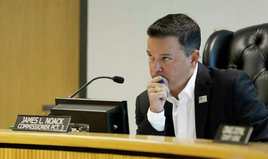 Montgomery County Precinct 3 Commissioner James Noack is hoping commissioners will reverse the court's 2015 action that gave County Judge Craig Doyal ultimate control over each county department. Photo: Jason Fochtman, Houston Chronicle / Staff Photographer / © 2018 Houston Chronicle