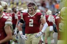 Boston College defensive end Zach Allen has been named the Walter Camp Connecticut Player of the Year.