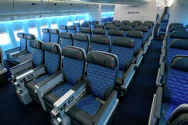 Delta flyers can now upgrade to a seat like Premium Select and pay with miles after booking.