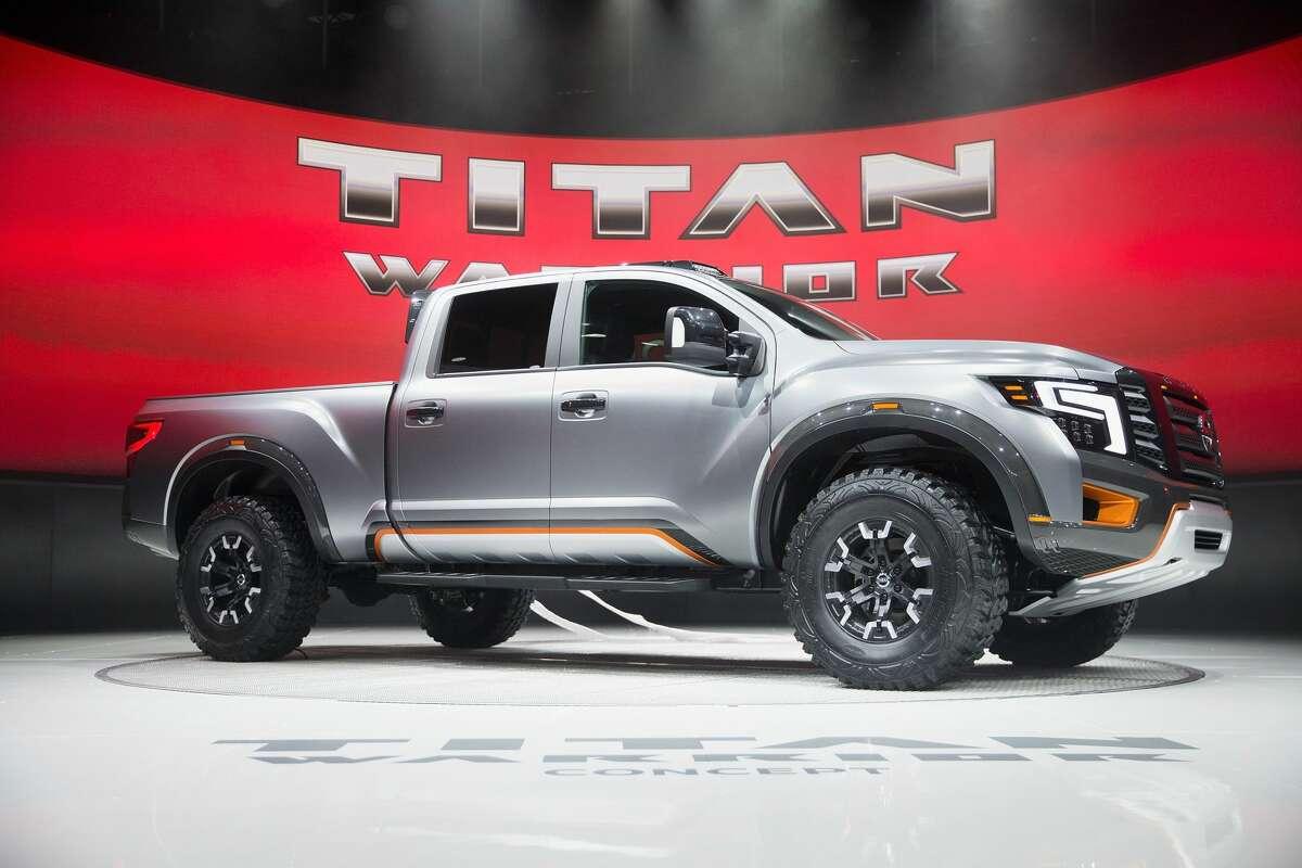 10. (TIED) Nissan Trucks - 15 stolen