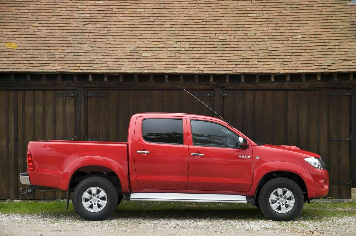 9. Toyota Trucks - 21 stolen