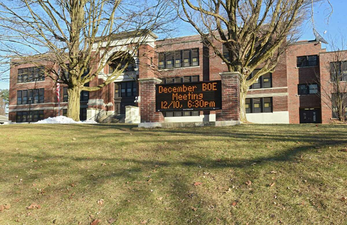Exterior of Fort Edward school on Monday, Dec. 10, 2018 in Fort Edward, N.Y. (Lori Van Buren/Times Union)