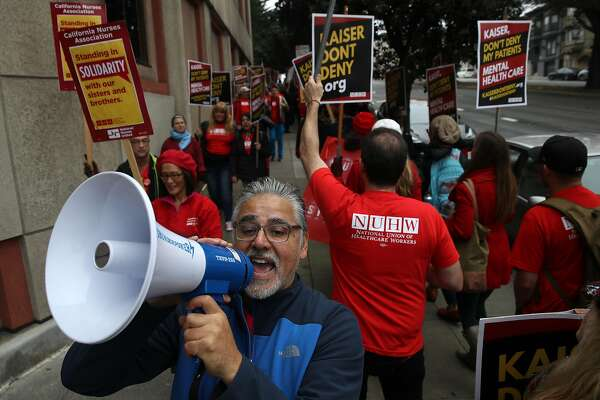 Kaiser Mental Health Workers Strike Citing Long Patient Wait Times