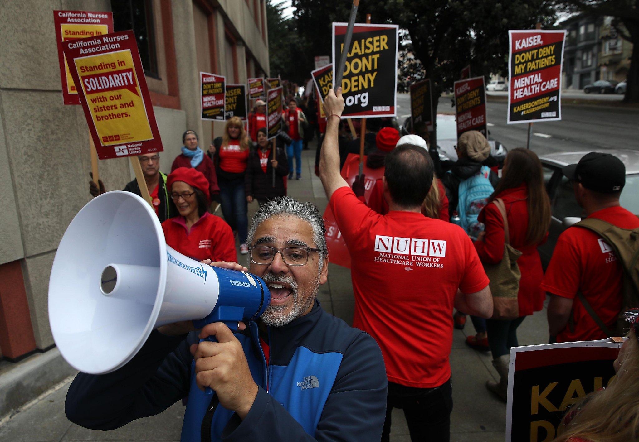 Kaiser mental health workers plan California strike Tuesday