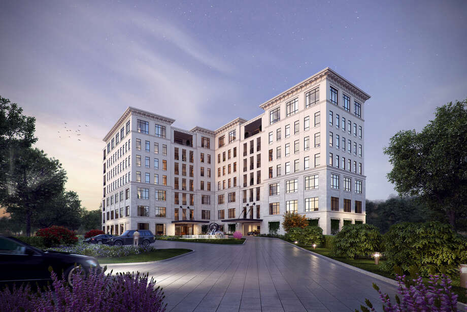 SOPHIE AT BAYOU BEND The seven-story Sophie at Bayou Bend, a condo mid-rise at 6017 Memorial Drive, is scheduled to open in winter 2019. Photo: The Sophie At Bayou Bend