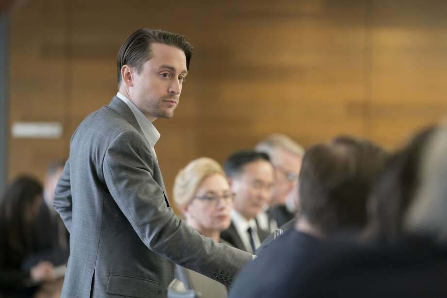 "This image released by HBO shows Kieran Culkin in a scene from ""Succession.""  On Thursday, Dec. 6, 2018, Culkin was nominated for a Golden Globe award for supporting actor in a series, limited series or TV movie for his role. The 76th Golden Globe Awards will be held on Sunday, Jan. 6. (Peter Kramer/HBO via AP) Photo: Peter Kramer, Associated Press"