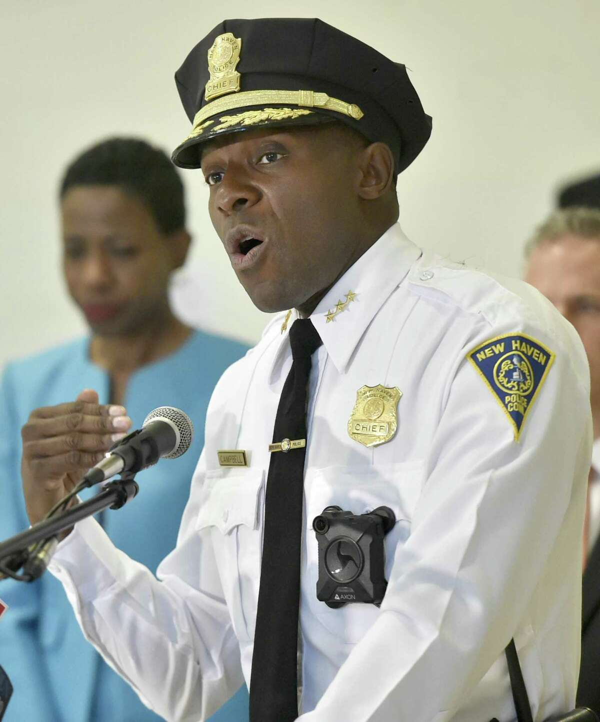 New Haven Police Chief Anthony Campbell