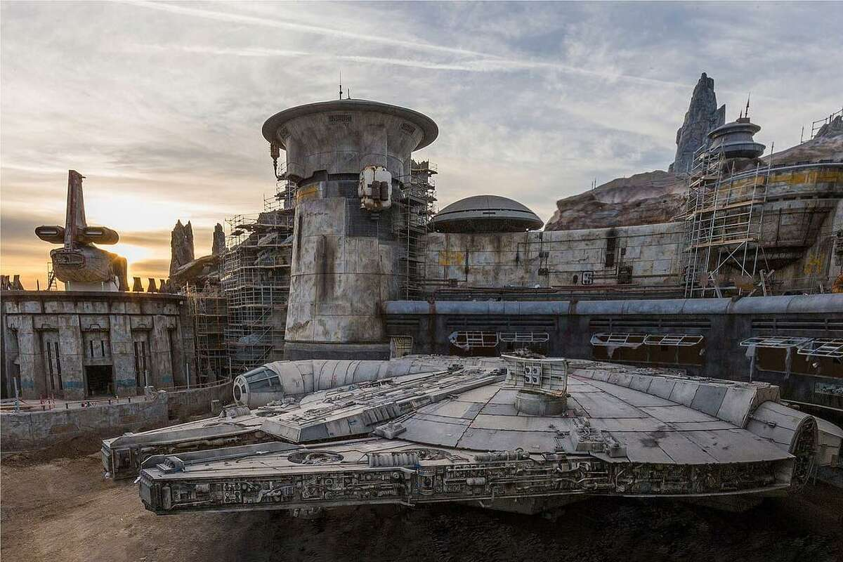 Disneyland posted this image of construction at