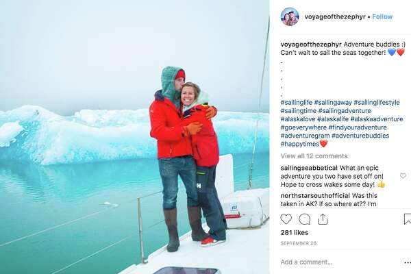 A couple from San Francisco quit their jobs to sail the world.