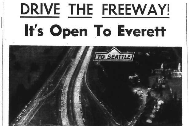 The $41 million six-lane project linked Northeast 145th Street to the freeway, stretching north to Everett.