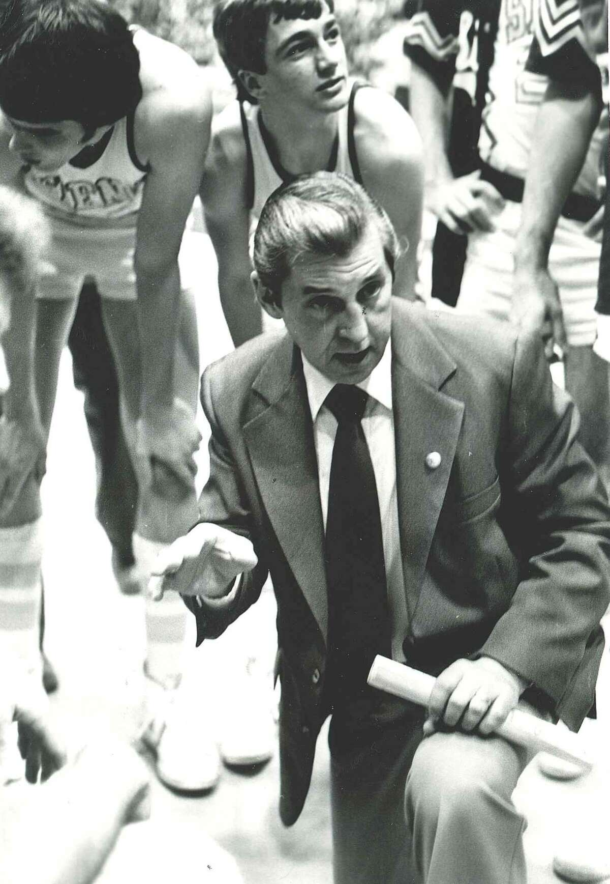 Former Siena College men's basketball coach and athletic director Bill Kirsch. (Courtesy of Siena College)