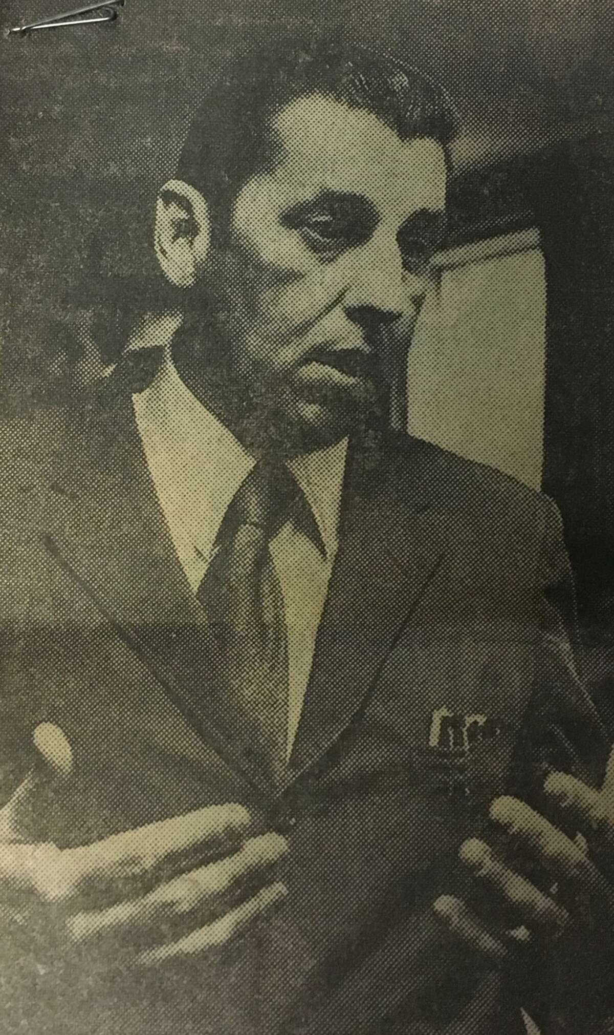 Former Siena College men's basketball coach and athletic director Bill Kirsch is captured in this 1970s Times Union archive photo.