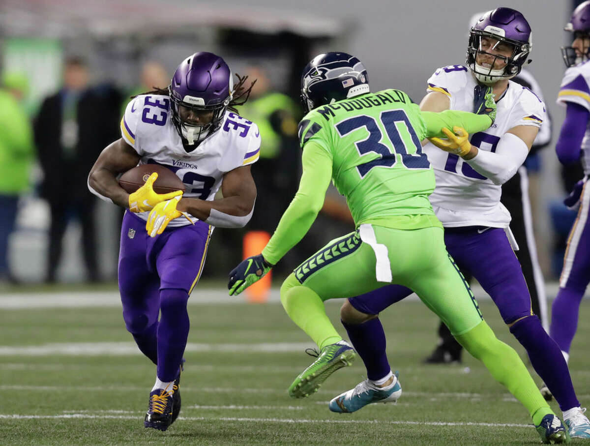 Bradley McDougald, safety  Free agent year: 2017  McDougald's current deal (three years for $13.5 million) looks like a bargain now, considering how big of an impact he's had on the Seahawks' defense. He's emerged as a leader in the secondary in a new reality without Kam Chancellor and Earl Thomas. Outside of Bobby Wagner and Frank Clark, McDougald is the most important player on Seattle's defense.  McDougald's versatility at safety gives the Seahawks many different options to play with in defensive schemes. He was named a Pro Bowl alternate last season.