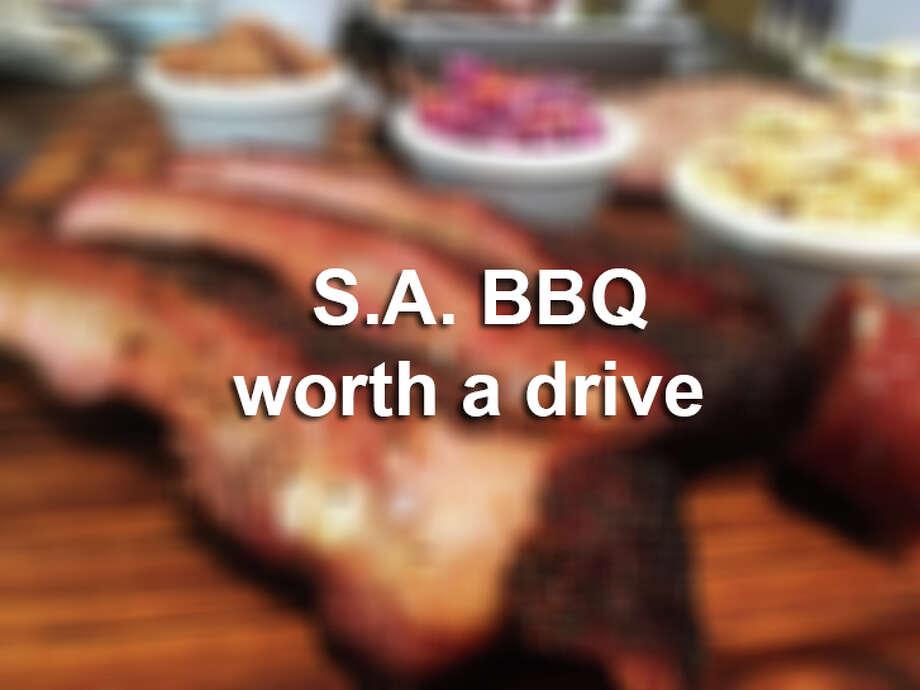 San Antonio BBQ joints worth the drive. Photo: Chuck Blount / Staff