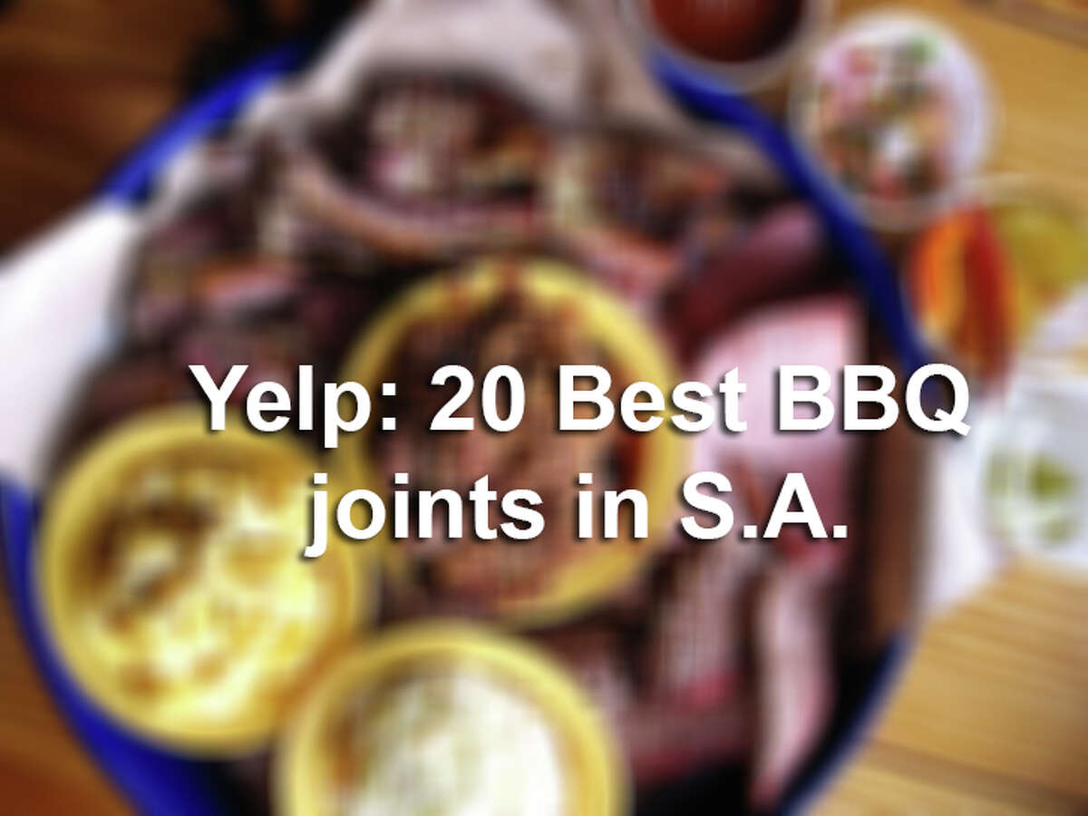 The 20 best BBQ joints in San Antonio according to Yelp.