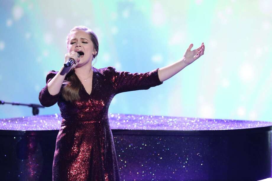 "Houston's Sarah Grace, who performed on ""The Voice,"" will take the stage at the May 10 Friendswood Concert in the Park. Photo: Tyler Golden/NBC / Tyler Golden/NBC / 2018 NBCUniversal Media, LLC"