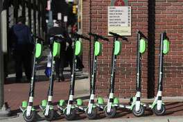 Some pedestrians find the scooters are a nuisance, whether they are parked or in use. By the end of December, companies could have more than 10,000 scooters available for use in San Antonio. All of them are not on the street at once.