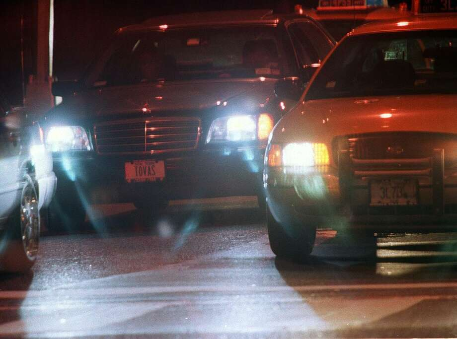 "AAA is warning drivers of an increased risk of driving at night: ""Cataract headlights."" It found cloudy or deteriorated headlights produce 80 percent less light compared to when they are new, according to a new AAA Engineering research. Photo: Thomas Dallal / NYT / NYTNS"