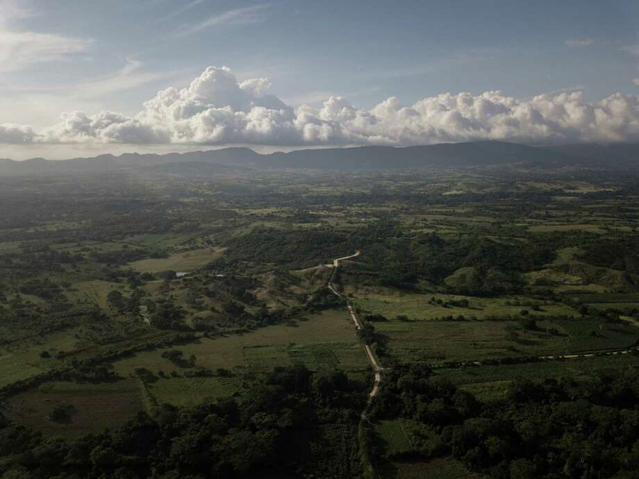 Aerial view from a drone of Montes de Maria and Sucre in Pichilin, Montes de Maria, Sucre, on Nov. 20, 2018. Photo: Photo For The Washington Post By Ivan Valencia / The Washington Post