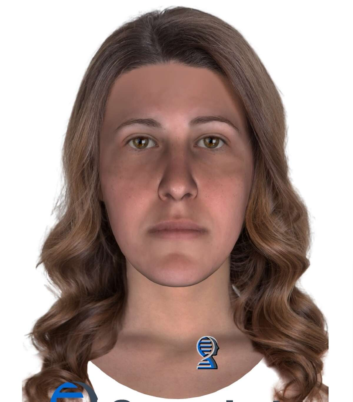A digital composite image and DNA analysis released by the League City Police Department of a woman whose body was found in a field near Calder Road in 1991. The analysis indicates the woman had family that originated in Louisiana.