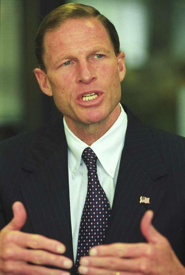 US Sen. Richard Blumenthal Photo: File Photo /Cathy Zuraw / File Photo / Connecticut Post file photo