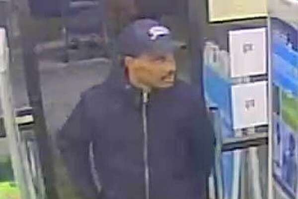 Danbury police are looking for a man who has been passing counterfeit $100 bills at the Danbury Fair Mall and Walgreens.
