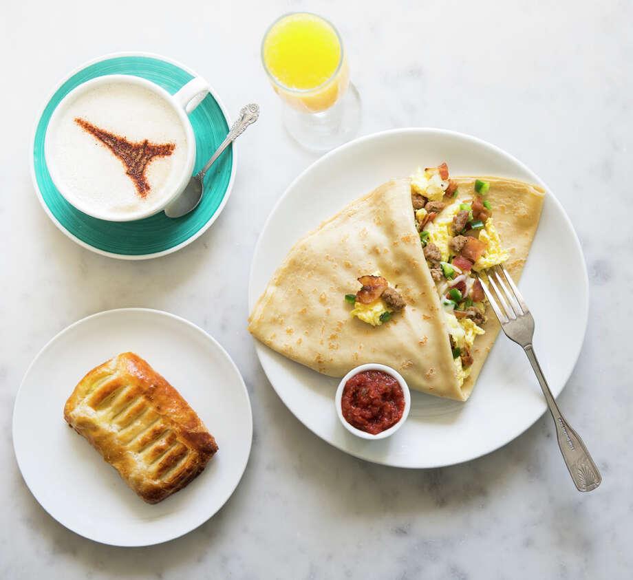 Breakfast at Sweet Paris Creperie & Cafe. Photo: Julie Soefer / Julie Soefer Photography