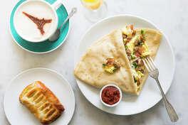 Breakfast at Sweet Paris Creperie & Cafe.
