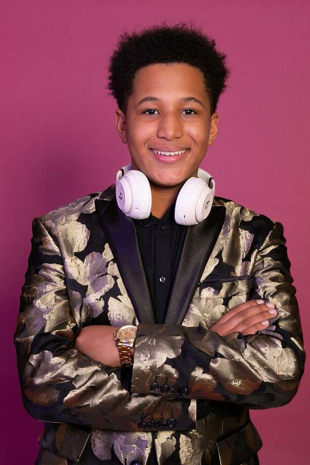 "Omar ""DJ BamBam"" Ennis poses for a portrait at Optik21 Studio in Bridgeport, CT Photo: Francesca Andre / For Hearst Connecticut Media / Connecticut Post Freelance"