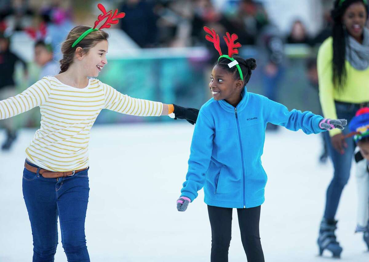 The ICE powered by Green Mountain Energy at Discovery Green 1500 McKinney 713-434-RINK (7465)$11 admission, $4 skate rental