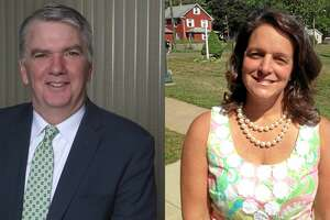 Cromwell Superintendent of Schools John T. Maloney (left) andAssistant Superintendent Krista Karch have been placed on paid leave Tuesday, Dec. 11, 2018 for an alleged inappropriate relationship.